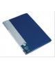 Папка 20 ф пластик 0,6мм торц. карман синяя BVP20blue