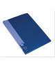 Папка 30 ф синяя пластик 0,65мм BPV30blue