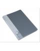 Папка 40 файлов серая 0,65мм пластик BPV40grey