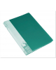 Папка 40 файлов зеленая 0,65мм пластик BPV40grn