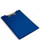 Папка клип-борд Бюрократ А4 пластик 1,2мм синий PD602blu
