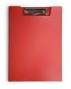 Папка клип-борд Бюрократ А4 пластик 1,2мм красный  PD602red