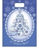 Пакет подарочный  полиэтиленовый 'Новогодняя гжель' 2477875