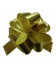 Бант 'Шар' 50мм Метал 'Полоска'Золото (Китай) 353519