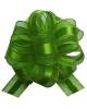 Бант 'Шар' 30мм Текстиль С золотой полоской 'Классика' Зеленый 354158