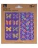 Закладки магнитные д/книг (2шт) Бабочки и Цветы 39602