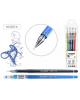 Ручка гелевая набор 4цв LEXY игол.пиш. узел  0,5мм корп. пластиковый  М-5507-4