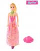 Кукла модель 'Тамара' в длинном платье с аксессуарами Микс 2518200