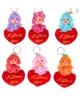 Игрушка куколка-брелок 'Куколка на сердце' с хвостиком Микс 2585332