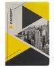 Обложка д/паспорта пластик полноцвет 'Серо-желтый город' 2966534