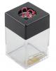 Диспенсер для скрепок магнитный прямоугольный ассорти deVENTE 4134303