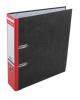 Папка-регистратор 70мм А4 'Е.К.' мраморный красный 676