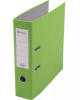 Файл 80мм LAMARK светло-зеленый. матал. окантовка /карман