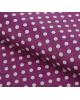Бумага упаковочная 'Горох на фиолетовом' 50*70см. 1882036