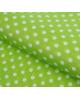 Бумага упаковочная 'Горох на зеленом' 50*70см. 1882044