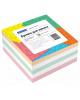 Блок для записи OfficeSpace 9*9*4,5 см. цветной 153174 Спейс