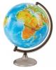 Глобус 32 см физико-политический с подсветкой на круглой подставке 10095 Глобусный мир