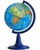 Глобус 12 см физический на круглой подставке Глобусный мир 10001
