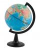 Глобус 15 см физический на круглой подставке Глобусный мир 10003