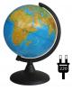 Глобус 21 см физический на круглой подставке Глобусный мир 10006