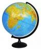 Глобус 25 см физический на круглой подставке Глобусный мир 10160