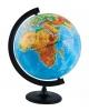 Глобус 32 см физический с подсветкой на круглой подставке Глобусный мир 10014