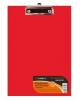 Планшет с зажимом А4 красный СВ0141