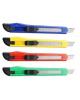 Нож канцелярский 10мм эргоном.форма ручки М-6302