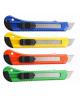 Нож канцелярский 18мм эргономическая форма ручки М-6303