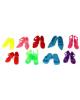 Аксессуары для куклы 'Набор обуви' 9 пар 112403