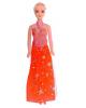 Кукла модель 'Наташа' в длинном платье цвета Микс 2905354