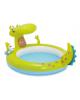 Центр игровой с бассейном 198*160*91см. 'Крокодил' 170л. от 2 лет Intex 57431