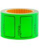 Ценник средний 35*25мм зеленый 200 шт/рулон OfficeSpace Spt_4189