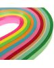 Полоски для квиллинга 'Цветные' (набор 500 полосок) МИКС ширина 1,1 см, длина 26 см 1644622