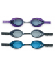 Очки для плавания Racing профи (не запот. УФО-защита силикон) 3 цв. 55691 Intex