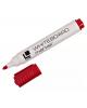Маркер красный для маркерных досок 3мм круг WRL01R LITE