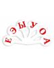 Касса-веер гласные буквы, облегченный Г-11