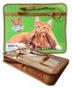 Папка для тетрадей А4 с ручками ПМ-А4-25 'Кролик и котенок' Пчелка (Китай)