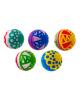 Мяч диаметр 200 мм лакированный, цвета МИКС 198554