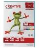Бумага CREATIVE color (Креатив) А4 80г/м 100л. интенсив голубая БИрг-100г. 45254