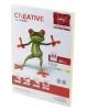 Бумага CREATIVE color (Креатив) А4 80г/м 100л. пастель желтая БПрr-100ж 41881