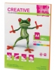 Бумага CREATIVE color (Креатив) А4 80г/м 50л. нео оранжевая БИрг-50г. 40402