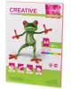 Бумага CREATIVE color (Креатив) А4 80г/м 50л. неон розовая БИрг-50г. 43328