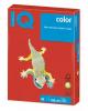 Бумага А4 50л IQ color интенсивно  Коралово-красный 07807