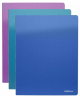 Папка 4 кольца 35мм Glance Vivid ассорти ЕК42979
