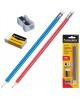 Набор карандашей 12шт  ч/гр НВ   ластик гриф. 2,0мм +точилка YL 816130