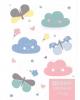 Дневник 1-4 кл. 'Цветные облачка' 48л. 46859 тисн.цв.фольгой