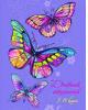 Дневник для 5-11 'Радужные бабочки' тв. переплет глянец 96стр. 46881