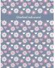 Дневник 1-11 кл. 'Цветочки на сером' интегр. переплет 96 стр. 46764