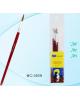 Набор кистей 3 шт художественных кистей нейлон (круглые) 1,2,3, МС-3929